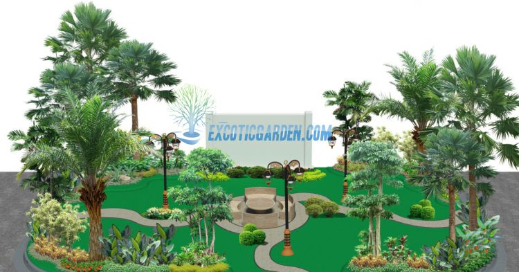 Jasa Desain Landscape Jakarta – Renovasi Taman Jakarta - Excotic Garden